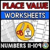 PLACE VALUE WORKSHEETS 1ST GRADE