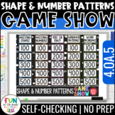 Shape & Number Patterns Game Show | 4th Grade 4.OA.5 | Dis