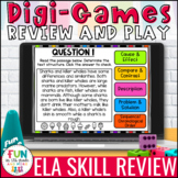 ELA Skills Review Digital Activity | Distance Learning