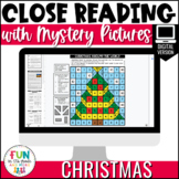 Christmas Close Reading Comprehension | Digital | Distance