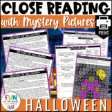 Halloween Reading Comprehension Activity | PRINT Only