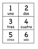 ONLY TARJETONES reconocimiento de números/ FLASH CARDS num