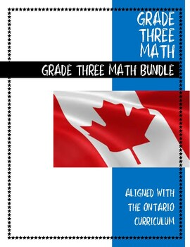 ONTARIO CURRICULUM, Assessment OF Learning, Grade THREE Bundle