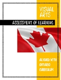 ONTARIO CURRICULUM Visual Arts