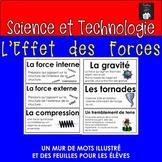 ONTARIO SCIENCE FRENCH EDITION: MUR DES MOTS L'EFFET DES FORCES