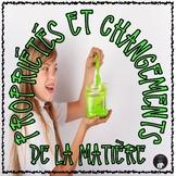 ONTARIO SCIENCE FRENCH EDITION: LES PROPRIÉTÉS DE LA MATIÈRE