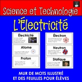 ONTARIO SCIENCE FRENCH EDITION: MUR DES MOTS L'ELECTRICITE