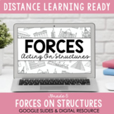 ONTARIO SCIENCE:Forces Acting On Structures - Digital Workbook #DistanceLearning