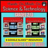 ONTARIO SCIENCE: GR 2/3 COMBINED GRADES GOOGLE SLIDES™| DI