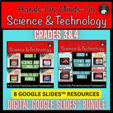 ONTARIO SCIENCE: GR 3|4 COMBINED GRADES GOOGLE SLIDES™| DI