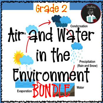 ONTARIO SCIENCE: GRADE 2 AIR AND WATER IN THE ENVIRONMENT BUNDLE