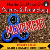 ONTARIO GRADE 2 SCIENCE: MOVEMENT & SIMPLE MACHINES