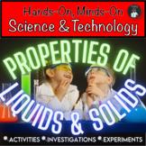 ONTARIO SCIENCE: GRADE 2 PROPERTIES OF LIQUIDS & SOLIDS