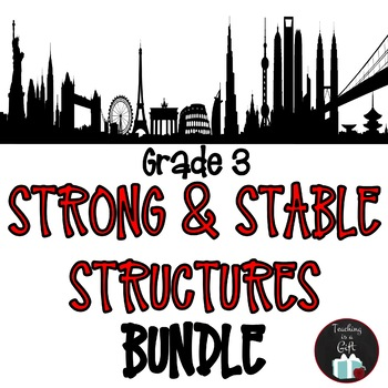 ONTARIO SCIENCE: GRADE 3 STRONG AND STABLE STRUCTURES BUNDLE