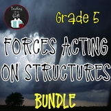ONTARIO SCIENCE: GRADE 5 FORCES ACTING ON STRUCTURES AND MECHANISMS BUNDLE