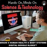ONTARIO SCIENCE: GR 5 HUMAN ORGAN SYSTEMS FOR GOOGLE SLIDE