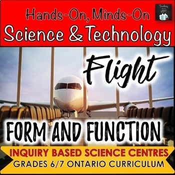 ONTARIO SCIENCE: GRADE 6/7 FLIGHT AND FORM & FUNCTION SCIENCE CENTRES