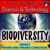 ONTARIO SCIENCE: GRADE 6 BIODIVERSITY SCIENCE CENTRES