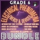 ONTARIO SCIENCE: GRADE 6 ELECTRICITY BUNDLE