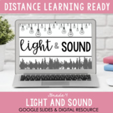 ONTARIO SCIENCE: Gr 4 - Light and Sound - Digital Workbook