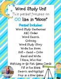 Digraph OO Like Moon Word Study:  Activities, Games, Worksheets