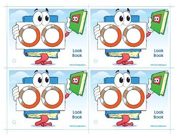 OO (Look Book) Word Buddy Card
