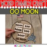 OO Moon Craft & OO Book Cover Craft (Display for the Vowel Teams OO)
