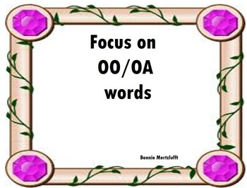 OO / OA Words
