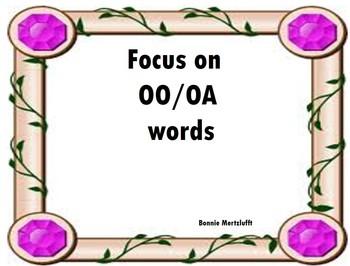 OO / OA Words