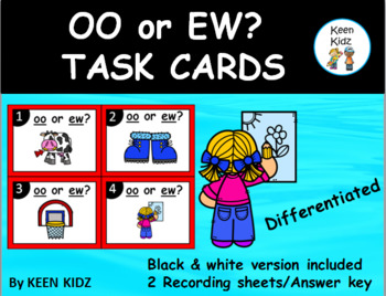 OO OR EW TASK CARDS/WRITE THE ROOM/SCOOT
