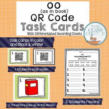 OO QR Code Task Cards