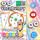 OO Short   Word Wheel Spelling   Phonics Vocabulary   Phonics Garden
