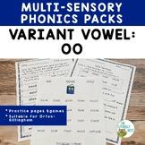 Vowel Digraph: OO   Orton-Gillingham Multisensory Phonics