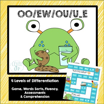 OO and EW Phonics Game and Word Sort