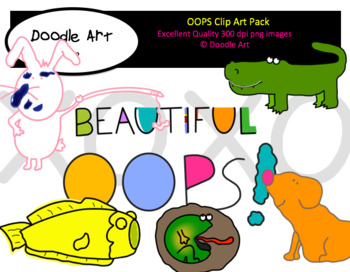 OOPS Clipart Pack