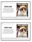 OOPS Late Homework Passes