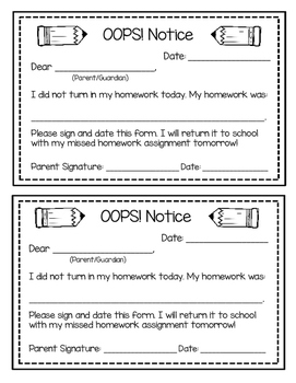https://ecdn.teacherspayteachers.com/thumbitem/OOPS-Notice-Forgot-my-Homework-Parent-Slip-1742402-1459863078/original-1742402-2.jpg