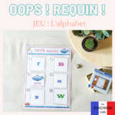OOPS requin ! L'alphabet – French Alphabet Board Game