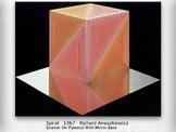 Op Art SHOW + TEST = 179 Slides - OpArt Optical Illusions art