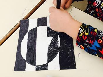 OP ART leçon et projets