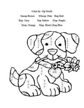 OP Family coloring page