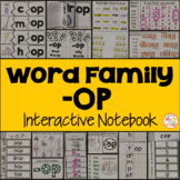OP Word Family Interactive Notebook