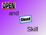 OPEN AND CLOSED SKILLS IN SPORT