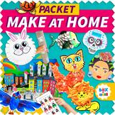 OPEN BUNDLE Distance Learning Packet for Preschool, Kinder