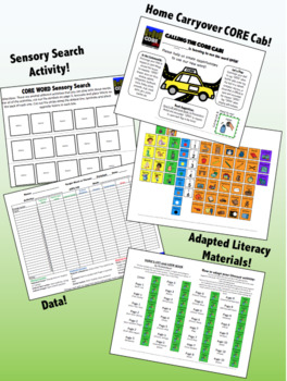 OPEN: Complete Core Word Activity Set