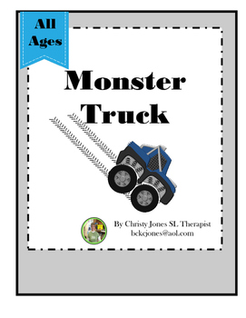 OPEN ENDED GAME- Monster Trucks!