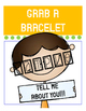 OPEN House Resource {Get to know your Students with bracelets} Parent night