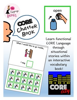 OPEN: Interactive CORE City Chatter Book