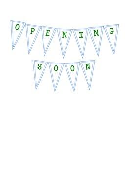OPENING SOON/COMING SOON Pendants