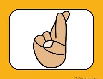 OPERATION ORGANIZATION:  Hand Signal Posters!